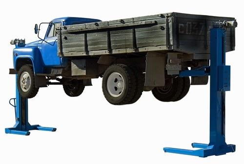Подъемник для грузовых автомобилей своими руками